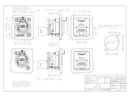 Symbols car diagrams neutrik speakon connector 4 pole cable mount at