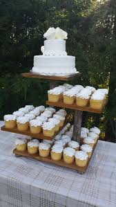 Rustic Cupcake Stand Log Cupcake Stand Rustic Cake Stand