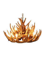 rustic whitetail 21 antler cascade chandelier with 12 lights