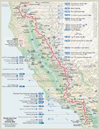 detailed pct maps – derek  caitlin's  pacific crest trail hike