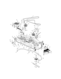 Craftsman garden tractor parts model