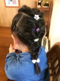女児 髪型 アレンジ Divtowercom