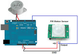 how to build a motion detector alarm circuit motion detector alarm circuit built arduino