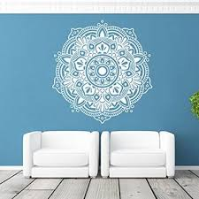 mandala wall art stickers