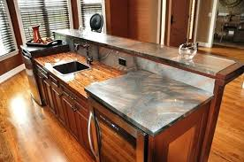 copper kitchen countertops enchantment copper counter diy copper kitchen countertops