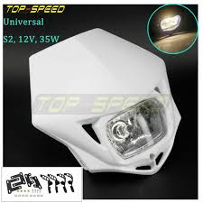 Enduro Lights Details About White Motorcycle Dirt Bike Enduro 35w Headlight For Yamaha Honda 12v Universal