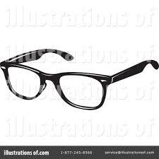 RoyaltyFree RF Glasses Clipart Illustration 71610 by Lal Perera