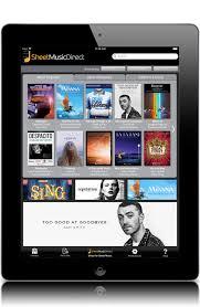 sheet music direct us sheet music direct ipad sheet music app digital sheet music and