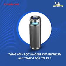 Chương trình khuyến mại lốp Michelin 2021- Tặng gối tựa và máy lọc không khí  cao cấp - Lốp ô tô Dân Chủ