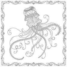 colouring books jellyfish google search