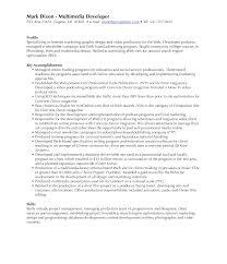 Qa Test Resume
