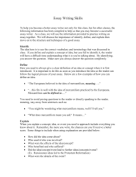 essay writing skills doc