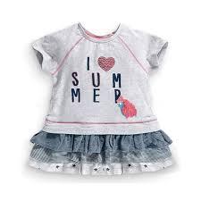Little Maven Size Chart 2015 New Little Maven Baby Girl Children I Love Summer Dress Grey Cotton Top Lace Skirt