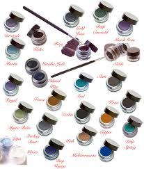 Eyeliner Chart Indelible Gel Eyeliner Cake Eyeliner Inkwell Eye Liners