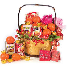 Small Picture Chinese New Year Gift Baskets Ride in on the Wood Horse Gift