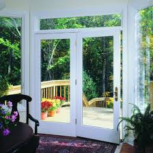 Pella 450 Series Center Hinged Patio Door Pella