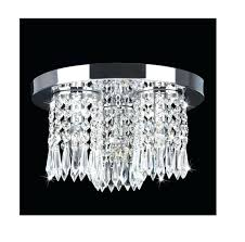 chrome flush mount chandelier 1 of chrome round shade crystal semi flush mount chandelier 4