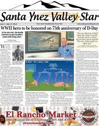 Solvang Theaterfest Seating Chart Santa Ynez Valley Star June A 2019 By Santa Ynez Valley Star