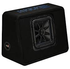 kicker tl7s10 car audio l7 subwoofer loaded 10 truck sub box kicker tl7s10 car audio l7 subwoofer loaded 10 truck sub box enclosure 44tl7s102