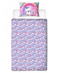 my little pony crush single duvet cover set panel design