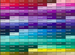 23 Genuine Pantone Colour Chart For Printing