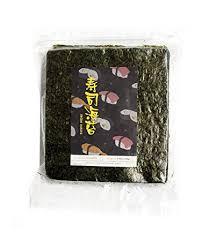 nori sheet amazon com sushi nori seaweed sheets 50 sheets by quiwi foods