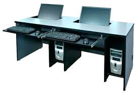 two person office desk. Two Person Computer Desk S Home Office Pertaining To Design 5