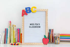 it s back to school time here in arizona and i m so excited about this back to school diy felt letter board i just think this is such a fun gift to