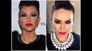 kourtney kardashian inspired makeup tutorial makeupbygio the beautifyyou club