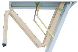 wooden loft ladder and insulated hatch the cadet 3 from premier loft ladders