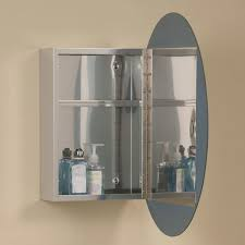 Oval Mirror Medicine Cabinet Ellipse Stainless Steel Medicine Cabinet With Oval Mirror