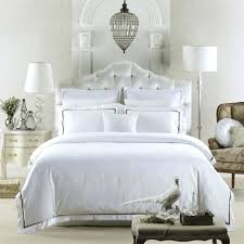 5 star hotel series 60s sateen fabric 100 fine combed cotton hotel white duvet cover king