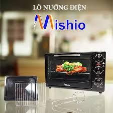 Lò nướng điện Mishio 26 lít (đen): Mua bán trực tuyến Lò nướng tích hợp với  giá rẻ