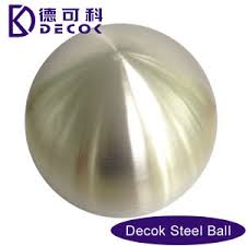 Stainless Steel Decorative Balls China 100mm Large Decorative Ball 100 Brushed Stainless Steel 67