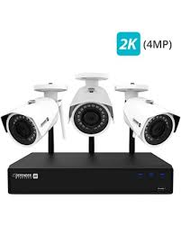 Defender 2K (4MP) Wireless 4 Channel 1TB NVR Security System with Remote Viewing and Sweet Valentines Day Savings on