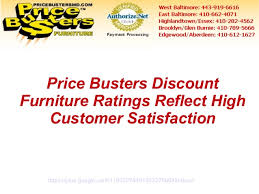 Price Busters Discount Furniture Ratings