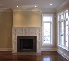 living room custom fireplace modern living room
