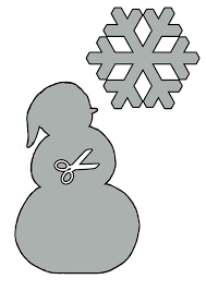 Christmas Stencils 5 Christmas Patterns Shapes To Print And Cut Out