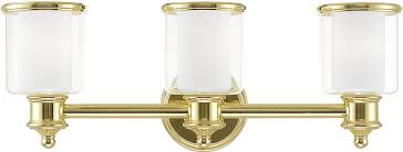 Brass bathroom light fixtures Nepinetwork Livex 4021302 Middlebush Polished Brass Bathroom Light Sconce Lvx4021302 Digitalmemoriesinfo Livex 4021302 Middlebush Polished Brass Bathroom Light Sconce Lvx