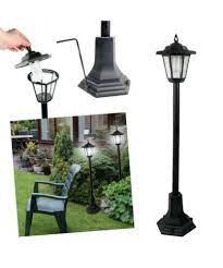 patio lights modern 2x garden lamp post