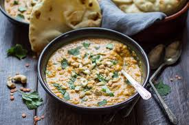 this fragrant soup is ed with curry and made from creamy red lentils carrots
