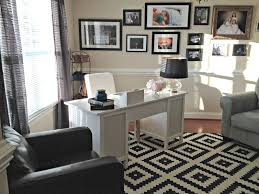 home office in dining room. Home Office: Dining Room Turned Office In L