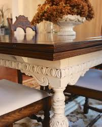 Chalk Paint Dining Room Table Painted Furniture Dining Room Table Update Carpets Chairs And