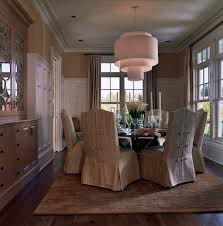 Living Room Chair Covers Slipcovered Dining Chairs Hampton Slipcovered Dining Arm Chair