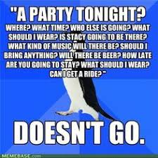 I am Socially Awkward Penguin. on Pinterest | Penguins, Penguin ... via Relatably.com