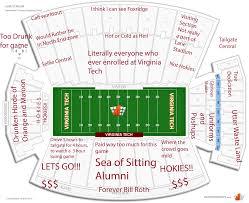 Lane Stadium Interactive Seating Chart Systematic West Virginia Football Stadium Seating Chart