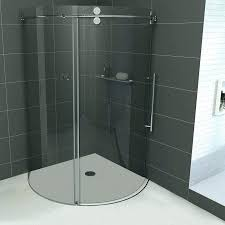 round aqua glass shower cleaning s enclosures stalls cool curtains enclosure kit sho