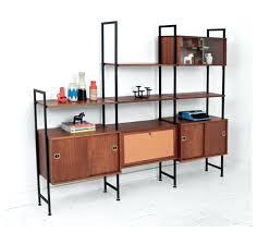 wall shelving units. Modular Wall Shelving Vintage Unit Mid Century Modern . Units