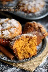 Garden Light Muffins Cinnamon Sugar Pumpkin Muffins