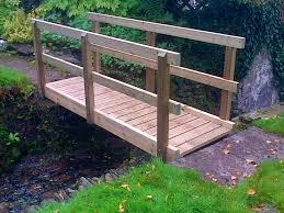 how to build a little garden bridge designs